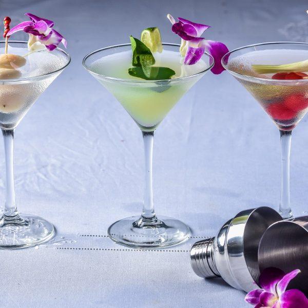 Makko Lychee Martini with Sake