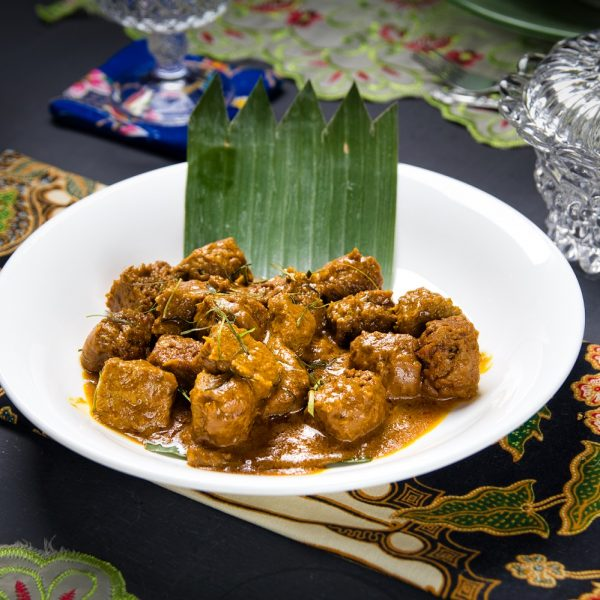 Veg Mutton Rendang